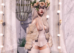 Soft Girl (Bambi Joyce) Tags: soft girl rama soy halfdeer ariskea unkindness candydoll villena addams lode burial stealthic insol sintiklia buzz ootd lotd lookbook second life sl girls fashion clothes blogger bloggers photography photoshop photographer blonde pastel