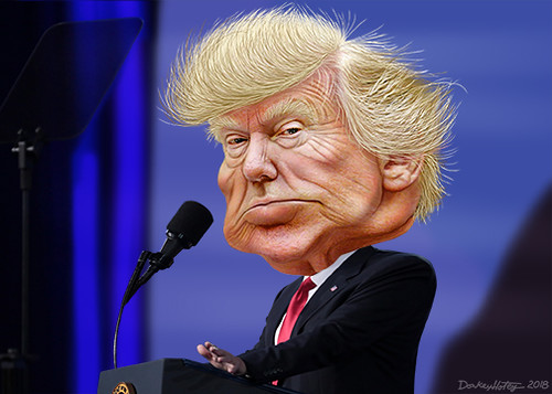 Donald Trump - Caricature, From FlickrPhotos