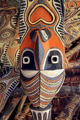 Oceania - Papua New Guinea (RURO photography) Tags: bodypaint png oceania oceanië beschildering tribes tribal paint peinture body neusring festival feest
