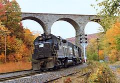 PC 7867                                                           10-75 (C E Turley) Tags: railroad railway pc penncentral dh delawarehudson