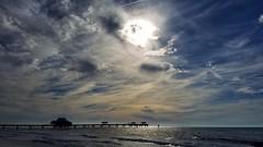 the pier... (BillsExplorations) Tags: sunset clouds sky pier pier60 clearwaterbeach beach whitesand water gulf ocean florida
