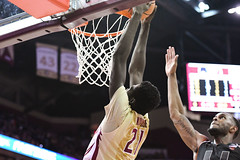 FSU Men's Basketball vs Miami (Jacob Gralton) Tags: fsu basketba miami ncaa college sports photography