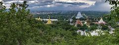 La colina de Mandalay (Nebelkuss) Tags: myanmar mandalay asia mingalaba burma birmania colinademandalay mandalayhill budista buddhist budismo buddhism fujixt1 fujinonxf23f14
