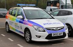 Cheshire Police Hyundai i30 Estate 'Rainbow' Response Car (PFB-999) Tags: cheshire police constabulary hyundai i30 estate incident response vehicle car unit irv panda rainbow pride lightbar grilles leds dk62akf