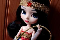 Diana [Pullip WW] (Vagabonde59) Tags: pullip pullips wonder woman diana prince ww dc groove doll dolls poupée poupées