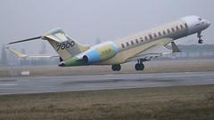 C-GLBX (Breitling Jet Team) Tags: cglbx proto global 7000 bombardier inc euroairport bsl mlh basel flughafen lfsb