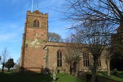 Church (daveandlyn1) Tags: church stlaurence meriden nrcoventry iii f3556 efs1855mm 1200d eos canon headstones gravestones clock bench footpath