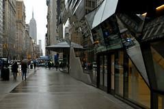 The Empire State Building (Eddie C3) Tags: newyorkcity manhattan empirestatebuilding nyc fifthavenue architecture thenewschool rainyday