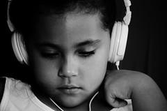 I'm deafened by the silence ...♫ (Karoline Bastos) Tags: effyb 6yearsold menina mistery nikon nikonphotography nikonworld beauty brazilianchild blackandwhite bw children child childphotography sad d7000 face feeling girl garotinha girls headphone music kid kidphotography kids littlegirl lonely portrait pb pretty outcolor toddler