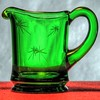 The Creamer, 17/100x (clarkcg photography) Tags: glass green creamer cut stars gorgeousgreenthursday 100xthe2018edition 100x2018 image17100 challengeonflickr coffreetheme