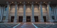 Columns (4 Pete Seek) Tags: palace temple hindu hindupalace hindutemple hinduarchitecture architecture religiousarchitecture columns duskdark dusk almostnight atlantaphotoworkshops mirrorless wideangle ultrawideangle uwa wa superwideangle swa laowa15mmf2