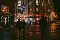 rainy day || Budapest, Hungary (thatvaleria) Tags: language culture zone centre centrum new raining light professional photo camera cold street europe snow color night city lights red people rainy ungheria budapest
