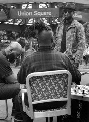 Chess Players - D7K_2174_epgs (Eric.Parker) Tags: newyork nyc ny bigapple usa manhattan 2017 union square park bw chess player