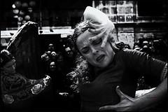 sentimiento y arrebato (bit ramone) Tags: flamenco baile dance music música gipsy gitano bn bw andalucía pasión passion woman mujer jerez jerezdelafrontera anamarga gente monocromático bitramone