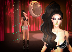 LuceMia - The Darkness Monthly Event (MISS V♛ ITALY 2015 ♛ 4th runner up MVW 2015) Tags: thedarknessmonthlyevent sl new fashion giuliadesign hair charme posesion poses milla millarasmusonmakeup event beauty creations hud colors models lucemia
