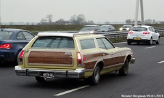 Ford Torino Squire Wagon 1974 (XBXG) Tags: 40ya30 ford torino squire wagon 1974 fordtorino v8 stationcar stationwagen station kombi estate woody a9 nederland holland netherlands paysbas vintage old classic american car auto automobile voiture ancienne américaine us usa vehicle outdoor