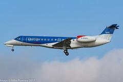 G-RJXJ - 2001 build Embraer 135ER, inbound to Runway 25L at Frankfurt (egcc) Tags: 135er 145473 bd bmr eddf emb135 embraer embraer135 embraer135er fra frankfurt grjxj lightroom main rheinmain bmiregional