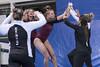 DU Gymnastics - Maddie Karr (brittanyevansphoto) Tags: collegegymnastics ncaagymnastics denvergymnastics vault celebration highfive