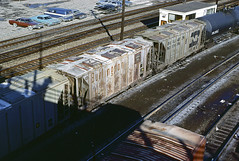 CB&Q Class HC-1C 182216 (Chuck Zeiler) Tags: cbq class hc1c 182216 burlington railroad covered hopper freight car cicero train chuckzeiler chz