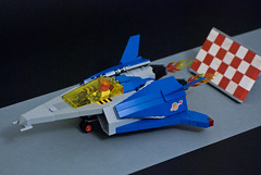 LL-2018, Lunch! (taxonlazar) Tags: space spaceman spaceship starship spacemanclassic classic classicspace canopies lunch takeoff