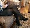 MyLeggyLady (MyLeggyLady) Tags: hotwife milf sexy crossed secretary teasing boots stiletto cfm legs heels