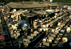 Some laundry today? (Jim & Katrien) Tags: dhobighatmumbai'spubliclaundry dhobighat publiclaundry mumbai bombay india