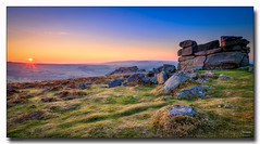 Saddletor Sunset (jeremy willcocks) Tags: saddletorsunset dartmoor devon ukjeremywillcocksc2018fujixpro2xf1024mm westcountry southwest colour landscape tor sunset moor moors rocks view wwwsouthwestscenesmeuk