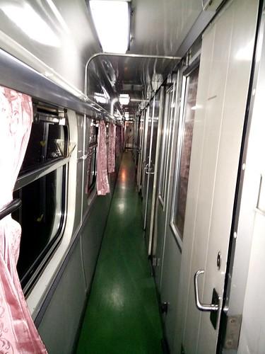 First class sleeper walkway looks like this. :-)