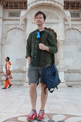 Josh at the cenotaph (olive witch) Tags: 2018 abeerhoque day india jan18 january jodhpur male outdoors rajasthan