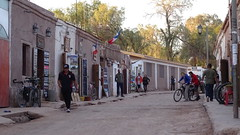 138 staubige Str. - dusty road through San Pedro de Atacama (roving_spirits) Tags: chile atacama atacamawüste atacamadesert desiertodeatacama désertcôtier küstenwüste desiertocostero coastaldesert sanpedrodeatacama