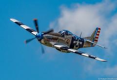 Air to Air (Robert Streithorst) Tags: daytonairshow2017 fragilebutagile inflight p51mustang robertstreithorst usa wwiiplanes warbird warplane