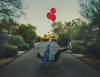 Reckless (Stokley_Berg) Tags: portrait lightroom photoshop surrealism nikon d3300 balloons street shadow kit lens