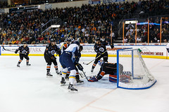 "Kansas City Mavericks vs. Toledo Walleye, January 20, 2018, Silverstein Eye Centers Arena, Independence, Missouri.  Photo: © John Howe / Howe Creative Photography, all rights reserved 2018. • <a style=""font-size:0.8em;"" href=""http://www.flickr.com/photos/134016632@N02/39839481961/"" target=""_blank"">View on Flickr</a>"