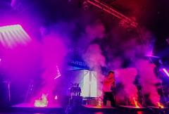 Coloured smokesplosions. (thnewblack) Tags: lg v30 android smartphone hdr 16mp f19 concert starset rickshawtheatre vancouver britishcolumbia snapseed