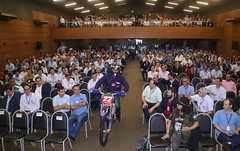 Palestra Motivacional o Piloto e Engenheiro Klever Kolberg para a Sipat de Itaipu - foto Nilton Rolin 11