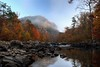 Morning Fog Rise (gatorinsc) Tags: little river canyon alabama fall fog stream mountain