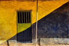 House in Addis (Neal J.Wilson) Tags: facade wall door doorsandwindows colors colour buildings house home lines graphic yellow addis ababa ethiopia africa travel