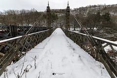 Elan valley, old steel bridge (technodean2000) Tags: elan valley mid wales uk old steel iron bridge stow covered d 810 lightroom d810 tree wood