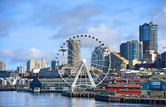 Seattle (shishirmishra1) Tags: waterfront city seattle sky outdoor travel explore usa building architecture