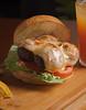 Kangaroo Burger (fotografia e tratamento de imagem) Tags: hamburguer burger sanduiche batatafrita onions vegano cheddar chef