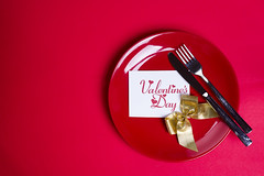 Gold ribbon on red plate. (lyule4ik) Tags: plate ribbon background bow celebration abstract christmas knife fork curled decoration design holiday party red set symbol gold empty isolated award banner birthday blank corner curved decor element flag gift tag accessories place shape object line shiny concept tableware lunch present multitude steel decorated ornament metal goldware sale