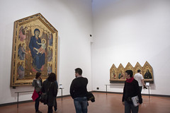 Gothic Paining - Uffizi - Florence (rfzappala) Tags: europe europa italy italia tuscany toscana 2016 florence firenze uffizi gallery museum gothic painting giotto