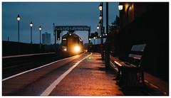 Getting Dark. (Gingydadtog) Tags: birmingham birminghammoorstreetstation class172 dmu dieselmultipleunit passengertrain westmidlands westmidlandstrains