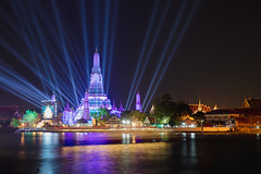 Lighting effects at Wat Arun Temple in the night, Bangkok, Thailand (Patrick Foto ;)) Tags: ancient architecture arun asia attract attraction background bangkok beautiful buddhism chao chaopraya chedi church city cityscape countdown culture dusk east event famous holiday landmark myanmar night oriental performing phraya prang religion religious river show shrine silhouette skyline southeast spirituality stupa sunrise sunset temple thai thailand tourism tower traditional travel twilight vacations wat water krungthepmahanakhon th