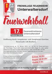Plakat Feuerwehrball 2018