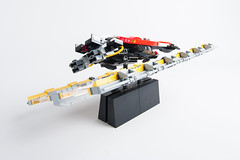 In the Future there will be Racing (roliathBrickworx) Tags: lego moc scifi racing ferrari antigravity stickers future afol wipeout