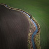 Divide (Draws_With_Light) Tags: vegetation aerialphotography landscape winter season water abstract agriculture scene drone melbourne eastridingofyorkshire fields djispark camera places stream