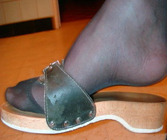 (pbass156) Tags: nylons pantyhose stockings feet foot footfetish toes shoes sandals strappy