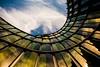 Architektur Kurve (brooks 30) Tags: kurve architektur farben licht wolken spiegelung