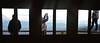 Perspectives (Elisabeth Arvaniti) Tags: winter mountains view window friends perspektives dreams eyes beauty snapshot photography art greece roadtrip explore peeking hiddencamera thessaly village height freshair oxygen life freedom outdoor box house mountain sky clouds ελλάδα θεσσαλία people men